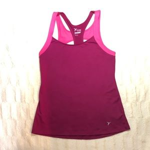 Old Navy Tank Top Go Dry Top Size M Pink